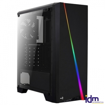Aerocool Caja Semitorre CYLON RGB LIGHTING USB3.0