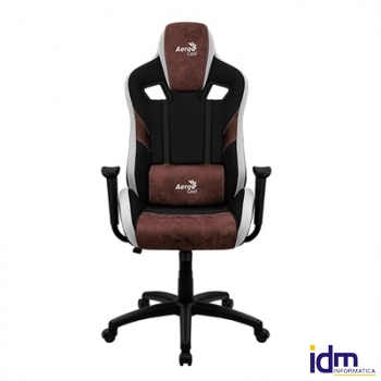 Aerocool Silla Gaming count burgundy red aerosuede