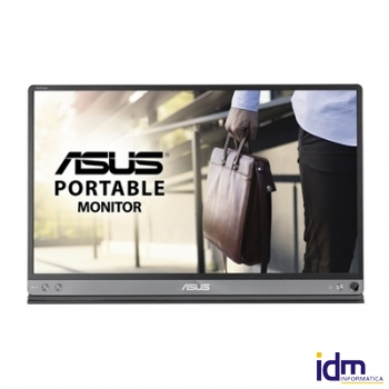 Asus MB16AC Monitor 15.6 pulgadas  IPS FHD USB Gris Oscuro