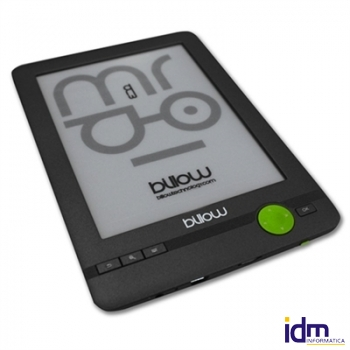 Billow E03FL eBook reader 6 pulgadas  E-Ink 4GB Luz Gris