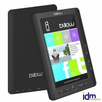 Billow E2TB Color Book reader 7 pulgadas  4GB Negro