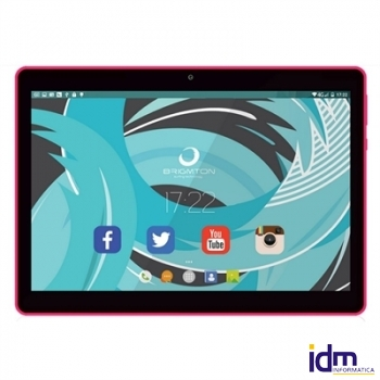 Brigmton Tablet 10 pulgadas  IPS  BTPC-1019 16GB QC Rojo