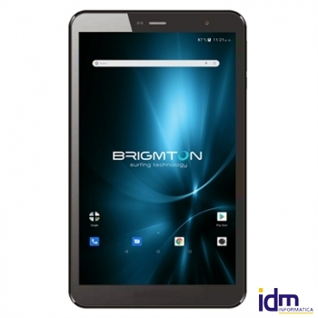 Brimgton Tablet 8 pulgadas  IPS HD QC BTPC801 Negro+funda