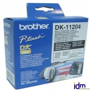 BROTHER Etiquetas Multi-Uso QL550