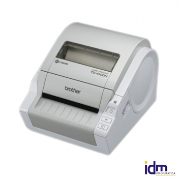 Brother TD-4100N térmica etiquetas USB/Serie/Red