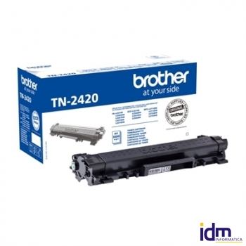 BROTHER TN-2420  Tóner Negro  DCP-L2530DW--L2510D