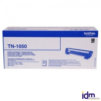BROTHER TN1050 Tóner Negro DCP1510