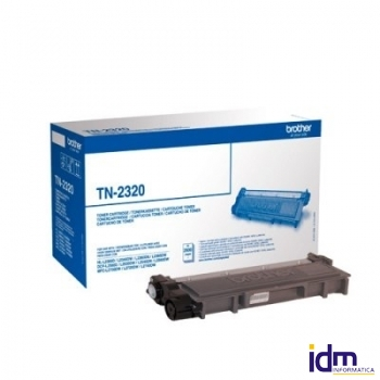 BROTHER TN2320 Tóner Negro MFCL2740DW