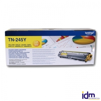 BROTHER TN245Y Tóner Yellow  HL3170CDW 2.200 pág.