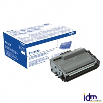 BROTHER TN3430 Tóner Negro DCP-L5500DN