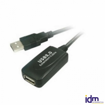 CABLE USB 2.0 PROLONGADOR+ AMPLIFICADOR M/H 5 M.