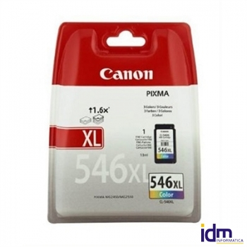 CANON Cartucho CL-546XL IP2850/MG2250/MG2550 CCICTO0563