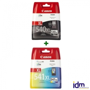 Canon Cartucho Pack PG540XL+CL-541XL