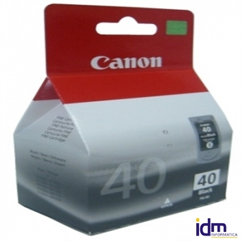 CANON Cartucho PG-40 Negro IP2600/MP220/MX300