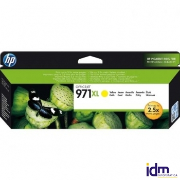 CARTUCHO AMARILLO HP N�971XL PARA HP OFFICEJET PRO X476DW / X576DW / X551DW