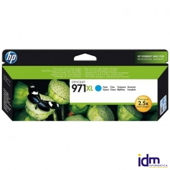 CARTUCHO CIAN HP N�971XL PARA HP OFFICEJET PRO X476DW / X576DW / X451DW