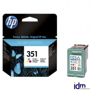 CARTUCHO COLOR HP N�351 PARA DESKJET D4260 Y J5780 C4280