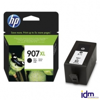 CARTUCHO NEGRO HP N�907XL - 1500 P�GINAS - COMPATIBLE CON OFFICEJET PRO 6960 / 6970 DEPT6M19AE