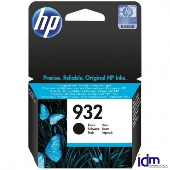 CARTUCHO NEGRO HP N�932 PARA HP OFFICEJET 6100 / 6600 / 6700