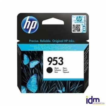 CARTUCHO NEGRO HP N�953 - 1000 P�GINAS - COMPATIBLE CON ALL-IN-ONE OFFICEJET PRO 8710/8720/8740 - OF