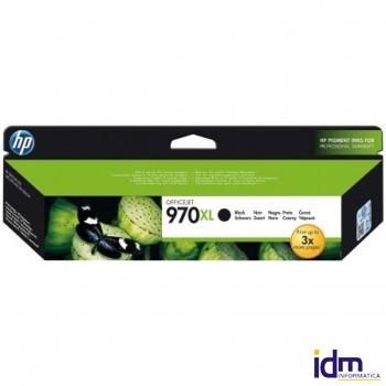 CARTUCHO NEGRO HP N�970XL PARA HP OFFICEJET PRO X476DW / X576DW / X551DW