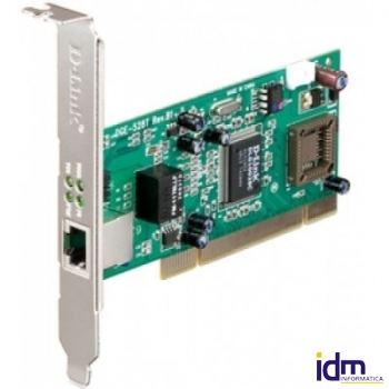 D-Link DGE-528T T.Red 10/100/1000 PCI Perfil Bajo