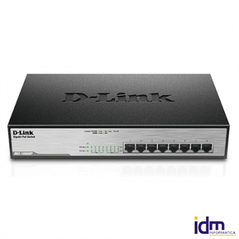 D-Link DGS-1008MP Switch 8xGB PoE