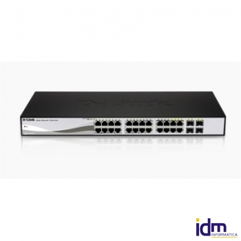 D-Link DGS-1210-24 Switch Gest. 24xGigabit + 4SFP