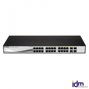 D-Link DGS-1210-24P Switch 24xGigabit + 4SFP PoE