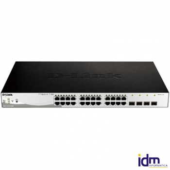 D-Link DGS-1210-28MP Switch 24xGB PoE+ 4xSFP
