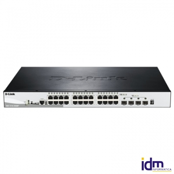 D-Link DGS-1510-28XMP Switch L2 24xGB PoE 4x10GB