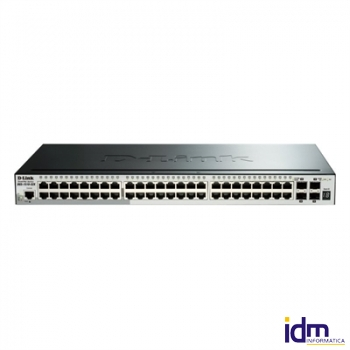 D-Link DGS-1510-52X Switch L2 48xGB 4x10GB