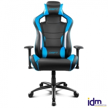 Drift Silla Gaming DR 400 Black/ Blue
