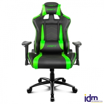 Drift Silla Gaming DR150 Black/Green