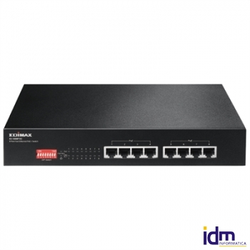 Edimax ES-1008P V2 Switch 8x10/100 PoE+