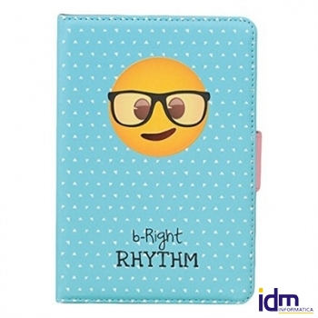 Emoji By EJDN Funda Ebook 6 pulgadas  Gafas
