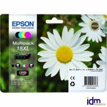 EPSON Cartucho Multipack T18XL XP225/322/422