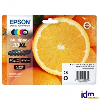 Epson Cartucho Multipack T33XL CCICTO0705
