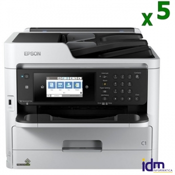 Epson Multifunci�n WorkForce PRO WF-C5710DWF Pack5