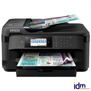 Epson MultifunciónWorkForce WF-7710DWF A3 Negra