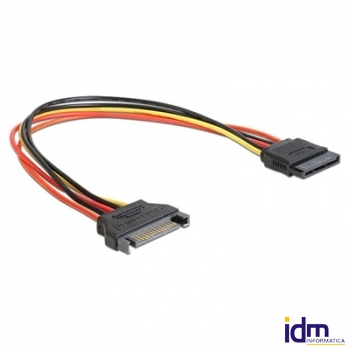 Gembird Cable Alim. SATA (M)-(H) Plano 0.15Mts