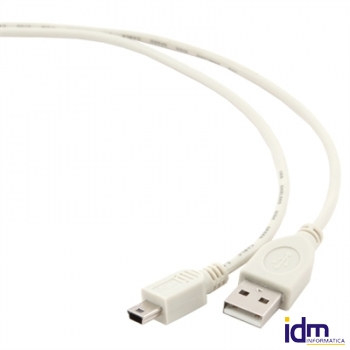 Gembird Cable Mini USB B (M) a USB A (M) 1.8 Mts