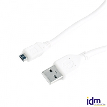 Gembird Cable USB 2.0 Tipo A/M-MicroUSB�0.5 Mts Bl
