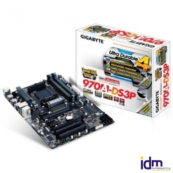 Gigabyte Placa Base 970A-DS3P ATX AM3+