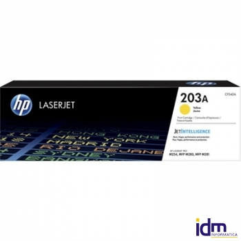 HP 203A tóner Yellow 1300 pag. HP M254dw-M254nw
