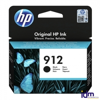 HP 912 Cartucho Negro 8,29ml Officejet Pro 8022