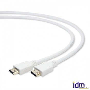 iggual Cable HDMI (M)-(M) con Ethernet 1 Mts Blnc