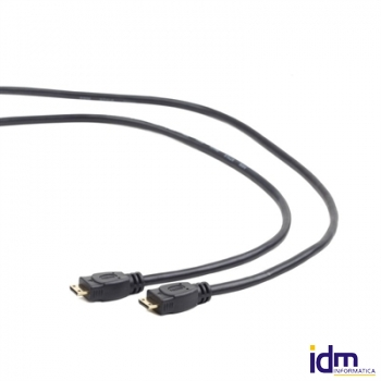 iggual Cable Mini HDMI (M)-(M) con Ethernet 1.8Mts