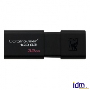Kingston DataTraveler DT100G3 32GB USB 3.0 Negro