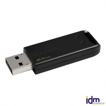 Kingston DataTraveler DT20 64GB USB 2.0 Negro